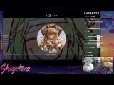 Cookiezi going GOD MODE on DADADADADA ULTRA BERZERK 10.04 HD PASS, 45x miss IMPROVED Livestream!