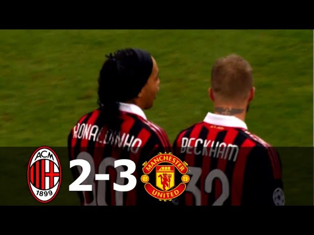 AC Milan vs Manchester United 2-3 - UCL 2009/2010 - Full Highlights HD