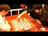 Svidler vs. Nakamura endgame, World Blitz Chess Championship, Moscow, 16 Nov 2010