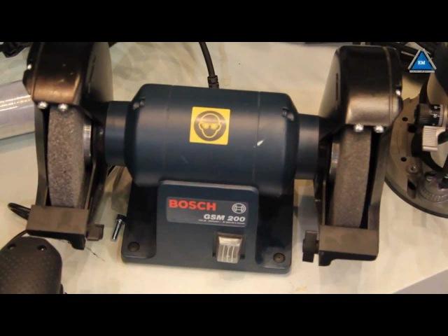 Точило Bosch GSM 200