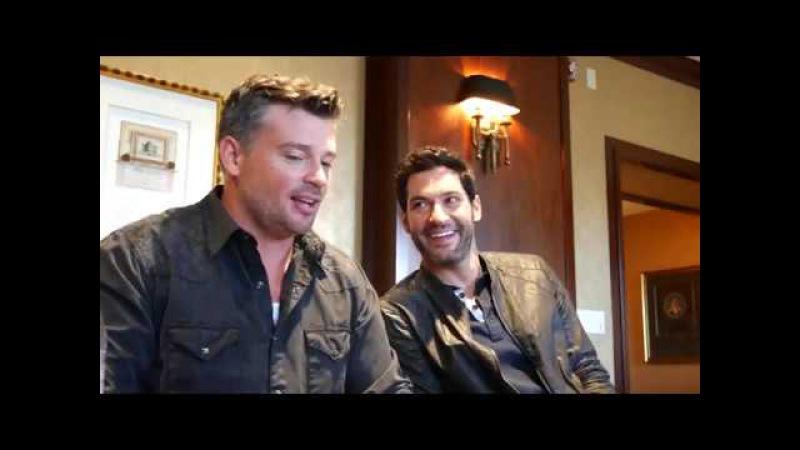 Tom Ellis and Tom Welling of Lucifer Talk about Season 3 on FOX