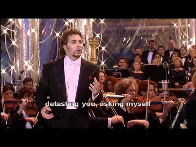 Roberto Alagna - Carmen, `La fleur que tu m`avais jetee`(Flower song. Act II)