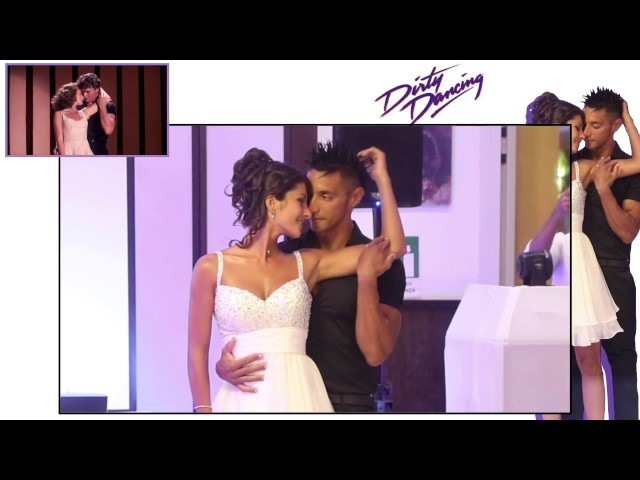 Dirty Dancing Kevin Elodie First Wedding Dance (Time of my life) / copy of the original