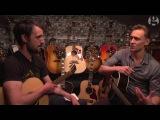 Tom Hiddleston sings Hank Williams in a London guitar shop