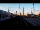 Прибытие поезда на Ладожский вокзал С-Пб 22.04.14