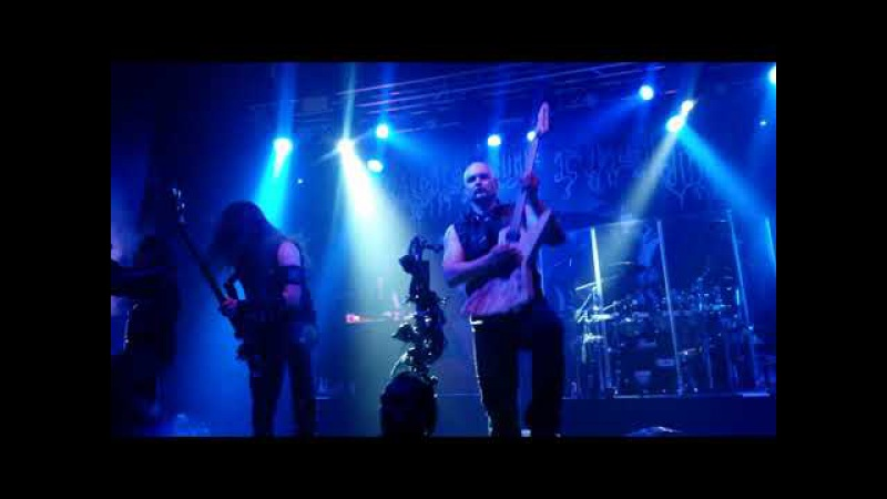 CRADLE OF FILTH - Her Ghost in the Fog Born in a Burial Ground /@ MCR Academy 2, UK, 02.11.2017/