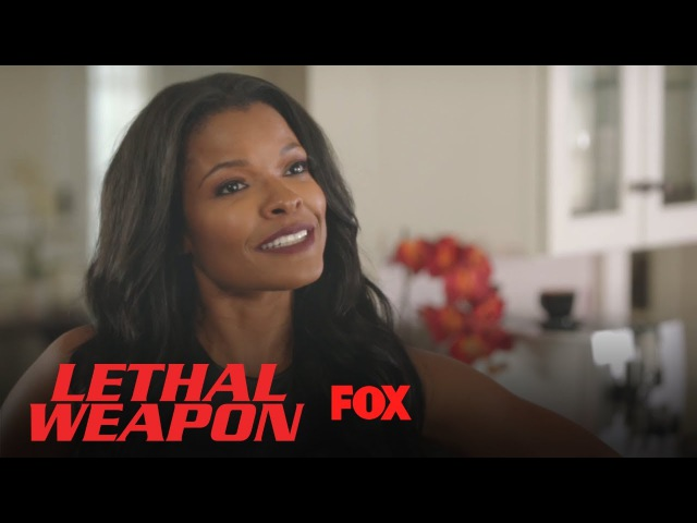 Roger Tries To Figure Out Who Keeps Texting Trish | Season 2 Ep. 7 | LETHAL WEAPON
