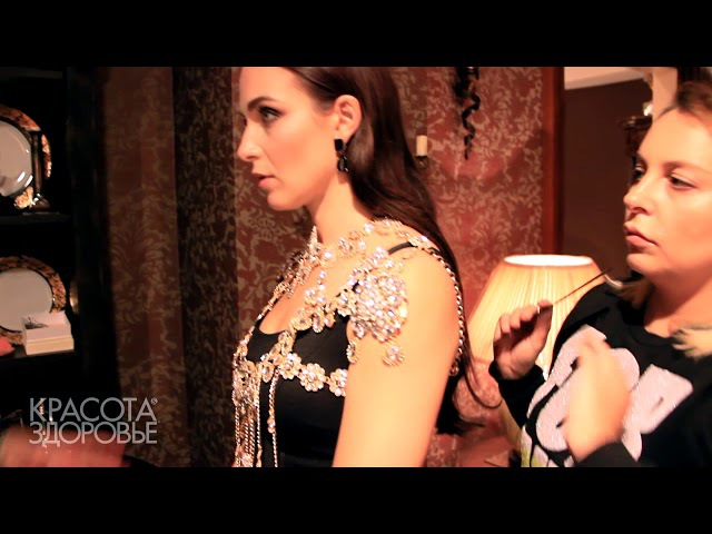 Анна Снаткина: бэкстейдж со съемки обложки журнала Красота и Здоровье