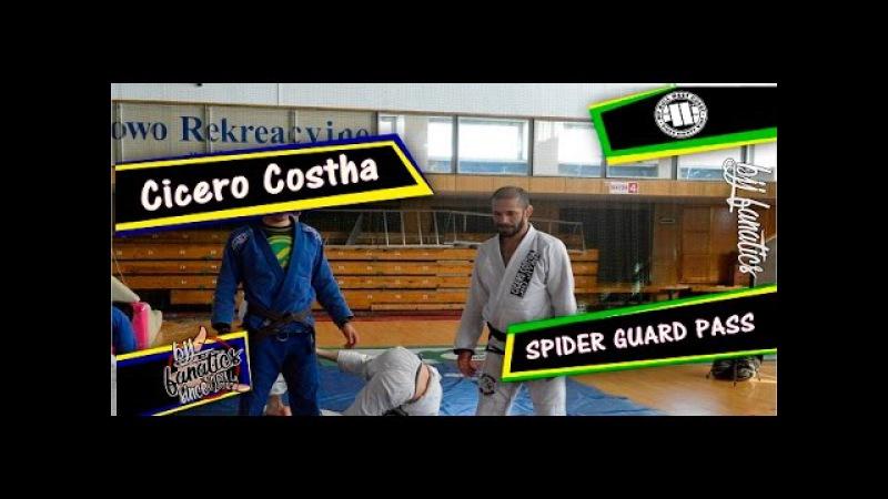 [Technika BJJ] Cicero Costha przejście pająka zakończone balachą