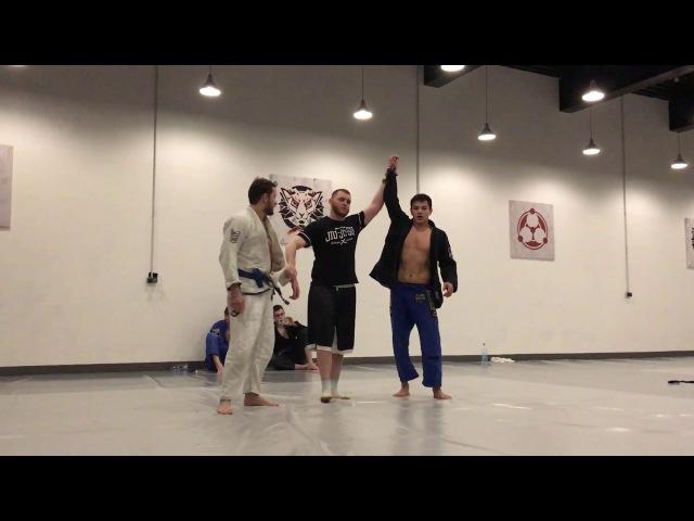 Маркин vs Юлдашбаев blue belts open weight