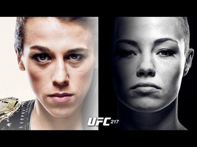 UFC 217: Joanna Jedrzejczyk x Rose Namajunas ufc 217: joanna jedrzejczyk x rose namajunas