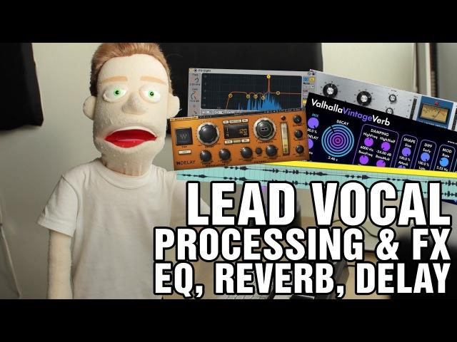 2) How To Mix Vocals Compression, EQ, Reverb, Delay Ableton Tutorial