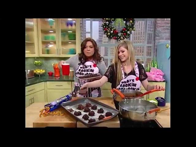Rachael Ray - Avril Lavigne's Chocolate Cookies
