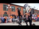 Шоу барабанщиков Brincadeira Испания Vertical Трюк с барабанами