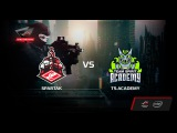 Spartak vs TS.Academy, map 1 train, Grand Final, ROG MASTERS Open Qualifier RUSSIA 2017