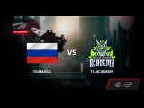 TeamASD vs TS.Academy, map 1 mirage, Semi-final, ROG MASTERS Open Qualifier RUSSIA 2017