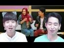 """Реакция корейцев на клип """"IOWA - Бьёт Бит"""" Корейские парни"""