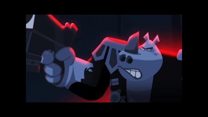 СОБЕЗ - Специальный отряд бесстрашных зверей - Космическая угроза - Серия 2 - Мультфильмы для детей