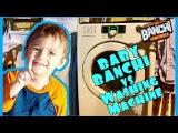 Baby Banchi vs. The Washing Machine, Big Banchi meets Nintendo Mario  not hobbykids