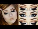 Chocolate Cut Crease & Soft Nude Lips / Maquiagem com efeito Profissional - by Angel