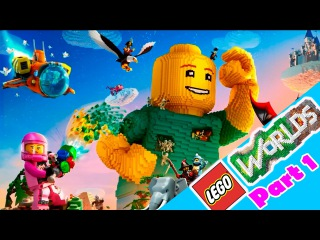 LEGO Worlds: Beginning of an Adventure / Astronaut in Pirate World - Walkthrough Lego part 1