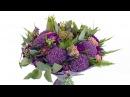 Букет из гербер и аллиума - Цветочный Маркет 24