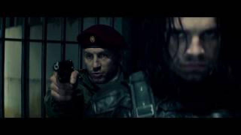 Баки Против Других Зимних Солдат.Первый Мститель Противостояние 2016