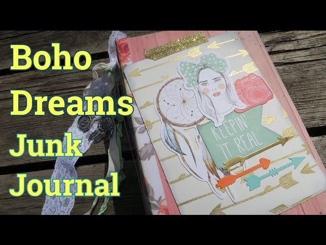 Boho Junk Journal / SmashBook Memory Journal Ft. Boho Dreams KaiserCraft | I'm A Cool Mom