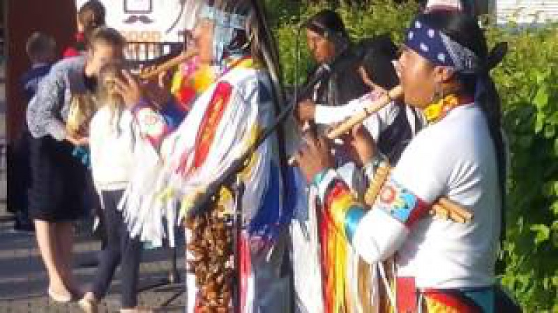 Индейцы в Хабаровске. Группа Yarik Ecuador. Ponchito. 29 мая 2017. Native American Songs in Russia.