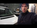 48 Volkswagen T4 Часть 1 Установка линз с глазами , шлифовка стёкл