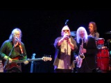 Edgar Winter with Eric Burdon. Aug. 29, 2015