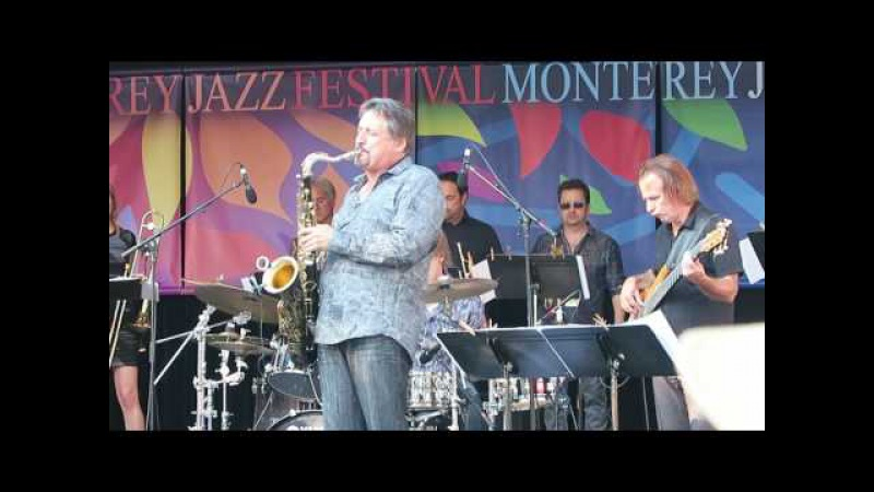 AJA by Tommy Igoe band Monterey Jazz fest 2016 w Marc Russo and Tom Politzer on Sax