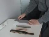 Четвёртое занятие - Как затачивать нож