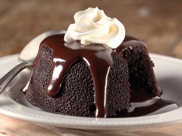 ШОКОЛАДНЫЙ КЕЙК Ингредиенты 200 г - темного шоколада 100