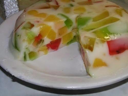 Желейный тортик Итак, для тортика нам понадобятся: 1. Разноцветное