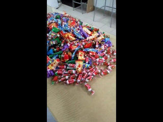 Обычные студийные закупки на месяц)) 7 кг конфет для любимых клиентов