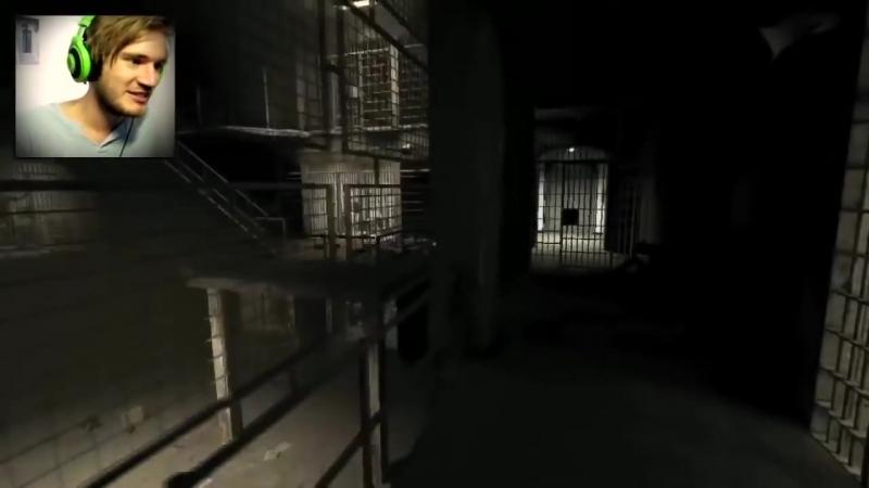 PewDiePie - Outlast - Ep32 -Я НЕ ПОРОСЁНОК!{Русская Озвучка]