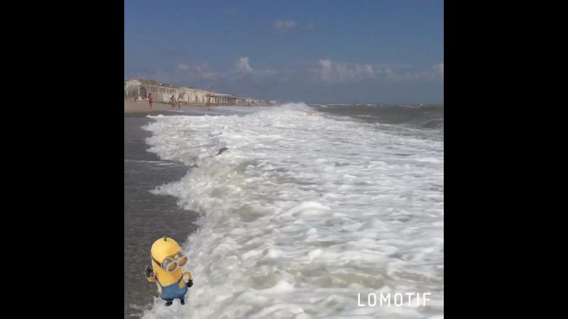 большие волны в крыму )