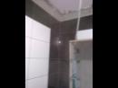 черна - белая ванная комната