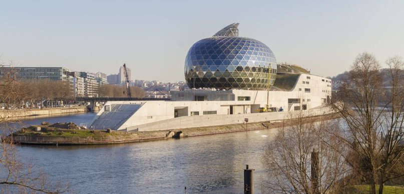 'la seine musicale' by shigeru ban and jean de gastines opens in western paris (Part 1)