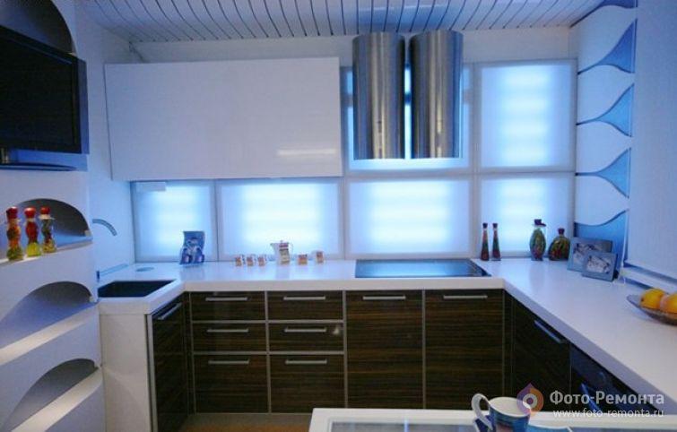 Современный дизайн кухни 11 кв.