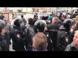 Задержание сторонников Мальцева в Москве