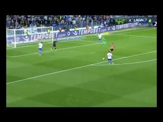 Испания ЛаЛига Малага - Барселона 2:0 обзор
