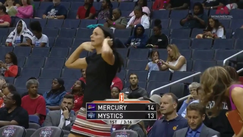 WNBA | Phoenix Mercury vs Washington Mystics | 18.08.2017