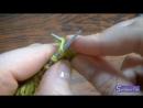 Вязание на спицах 6 Ажурный Узор спицами ЛИСТОЧКИ 1