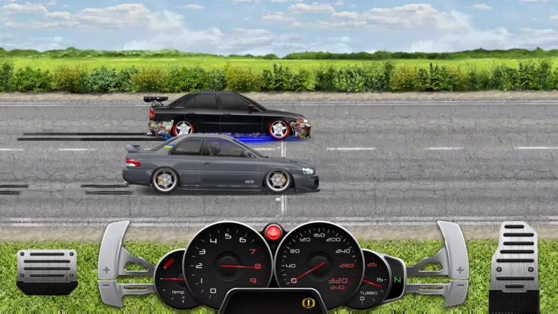 Subaru Impreza WRX STI vs Mitsubishi Lancer Evo IV