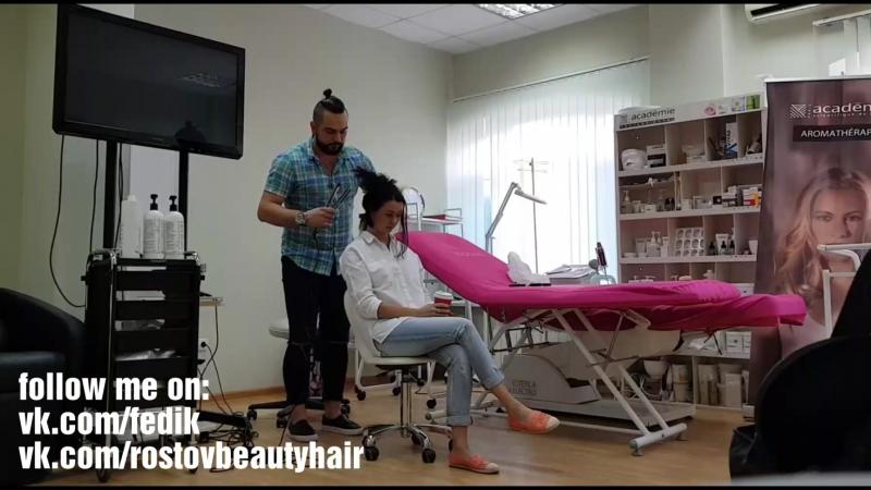 Serjfedik: гидрозаряд ADORN: коллагеновое восстановление волос by Marcia Teixeira