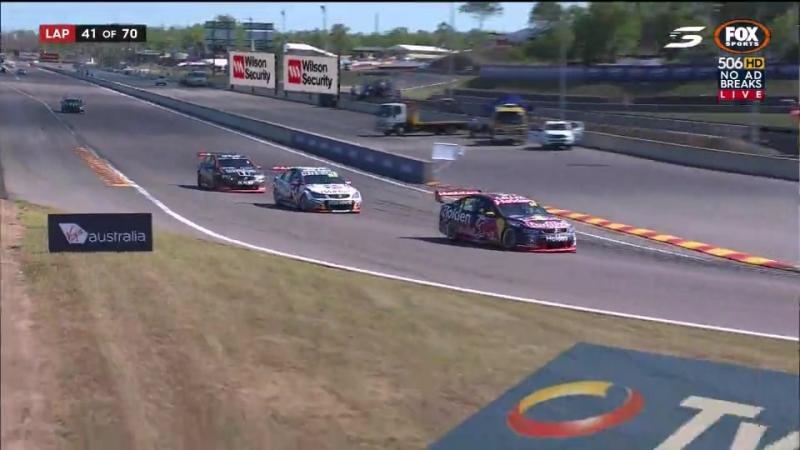 V8Supercars 2017. Round 6. Darwin. Race2