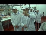 Открытие мясокомбината в Богдановиче. Экскурсия для Евгения Куйвашева и Владимира Москвина