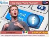 To Protect yourself against hacker via Facebook Phone Number 1-850-290-8368